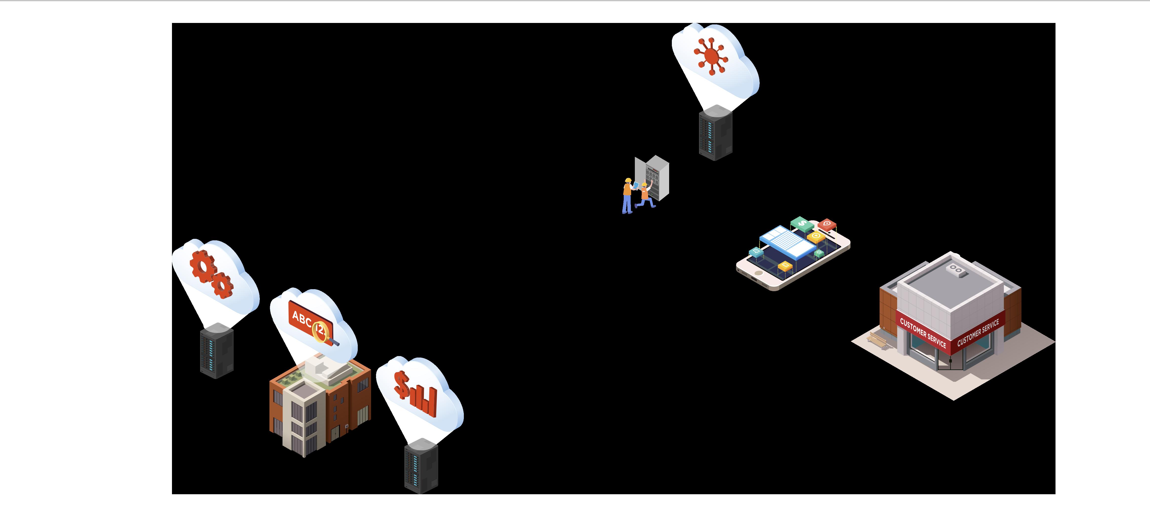 map buildings